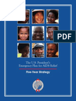 PEPFAR Five-Year Strategy 2009