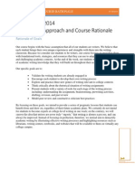 WSP U of M 2014 Course Rationale