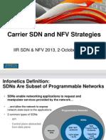 2013 Infonetics Iir Sdns and Nfv 2013 2 Oct Final