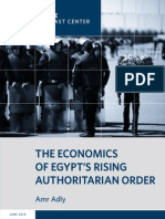 The Economics of Egypt's Rising Authoritarian Order
