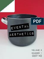 Evental Aesthetics, Vol. 3, No. 1 (2014)