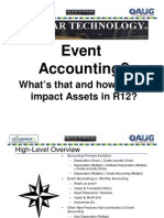 Accounting Events in FA