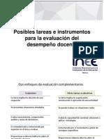 Instrumentos Para La Evaluación Del Desempeño Docente 2014-2015