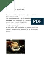 Degradation of Polyethylene