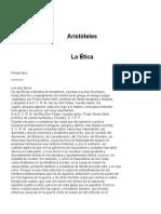 Aristoteles - Etica a Nicomaco