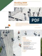 PwC - Retail Banking 2020