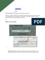 Penggunaan Software Audacity