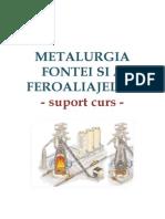Metalurgia Fontei - Curs - 2013