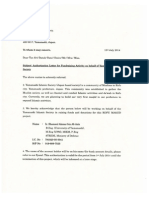 Letter of Authorization (Malaysia)
