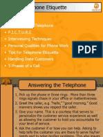 Telephone Etiquette 3-29-11