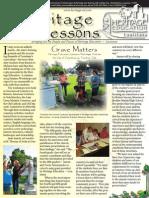 Heritage Lessons Summer 04 Newsletter