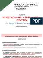 Conocimiento, Ciencia, Investigación y Método Científico