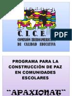 Modelo Integral de Cultura de Paz Estado de México Comisión
