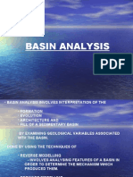 Basin Analysis.. study later