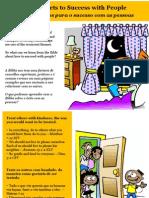 Cinco Segredos Para o Sucesso Com as Pessoas - Five Secrets to Success With People