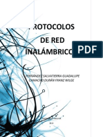 Protocolos de Red Inalambricas