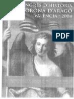 Del XVIII Congreso de historia de la Corona de Aragón Valencia 2004