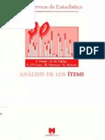 Analisis de Los Items