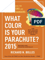 Excerpt From What Color is Your Parachute? 2015 Edition by Richard Bolles
