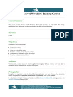Alfresco Activiti Workflow Training Course (1)