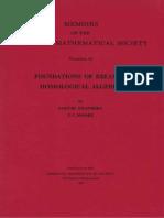 Eilenberg, Moore - Foundations of Relative Homological Algebra