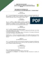REGIMENTO INTERNO DO COMITÊ GESTOR DE SEGURANÇA DA INFORMAÇÃO - CGSI DO IFAP