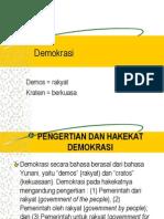 Pertemuan 4 Demokrasi