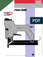Senco Model L Stapler Parts