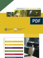 Aves que chocan contra las ventanas  Chicagos Bird Agenda 2006