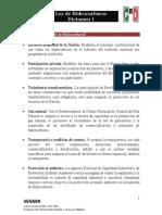 21-07-14 Dictamen - Ley de Hidrocarburos