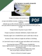 Gerardo lagunes Poema a una Flor