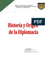 Historia y Origen de La Diplomacia