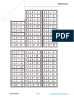 000198 Ch0 Multiplication Tables Upto 10