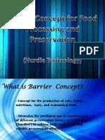 Barrier Concept