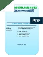 Trabajo de Clinica Dental Valencia
