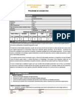 Programa CBI301 Parasito
