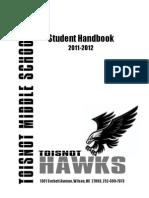 toisnot middle handbook 2011-12