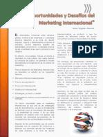 Oportunidades y Desafíos Del Marketing Internacional - Virginia Davis M