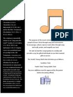 choir guidelines