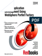 Portal Application Development Using Webshpere Portlet Factory