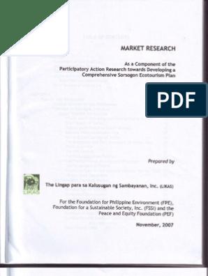 Market Research 2007 | Tourism | Environmental Social Science