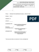 Tp0151 Tensoactivos Aniónicos en Agua – Método Saam