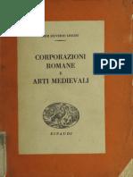 corporazioni romane e arti medievali