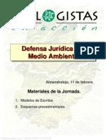 Defensa Juridica Del Medio Ambiente