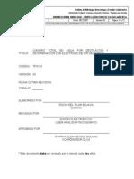 Tp0154 Cianuro Total en Agua Por Destilación y Determinación Con Ión Selectivo