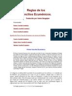 Canones Concilios Ecumenicos