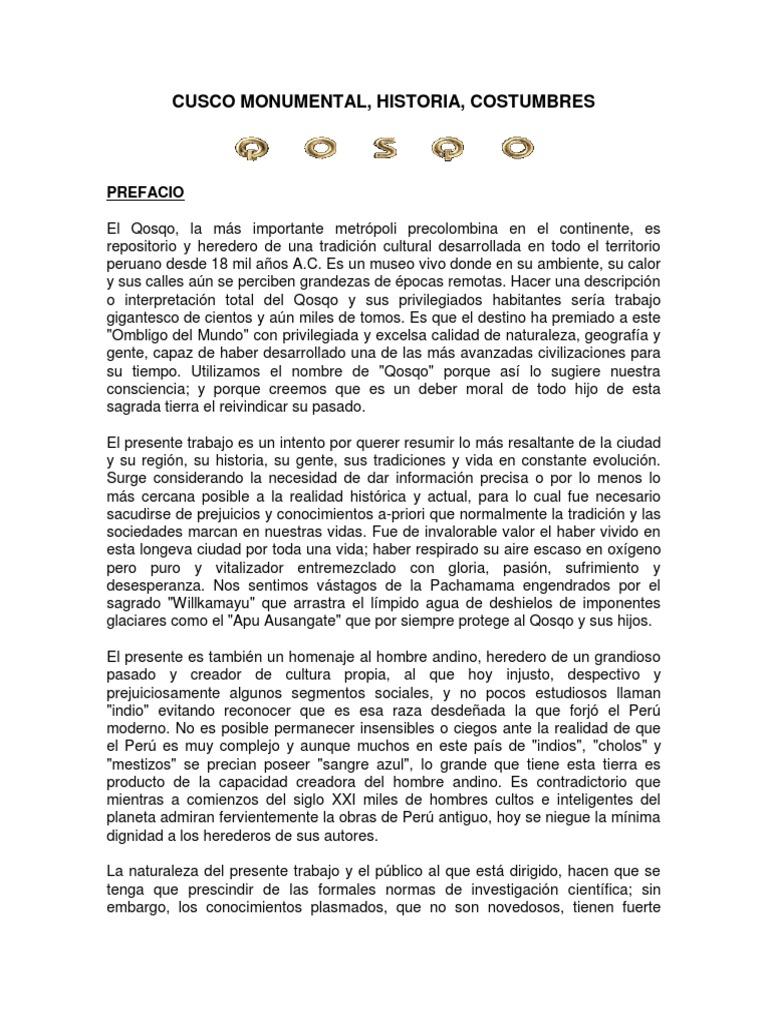 Cronologia Tiawanacu, Cusco y Otras Culturas Antiguas