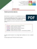 Program de Antrenament - Pedalare