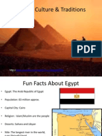 egypt culture and traditions english
