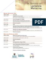 IX Jornada Lactancia Materna - Universidad Mayor